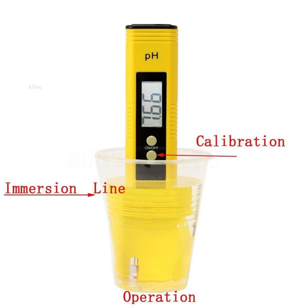 pH Wert Messgerät Digital Temperatur Tester Pool Wasser Aquarium Urin Labor