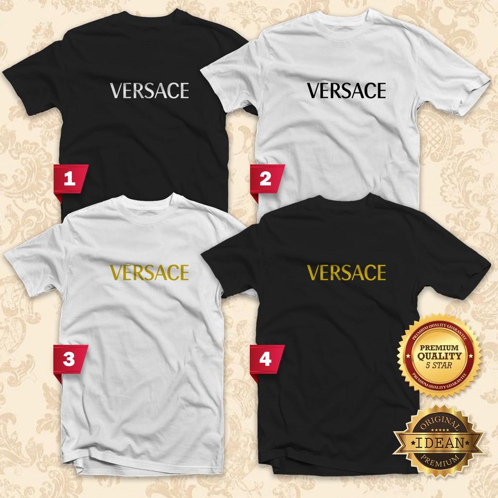 950f4f71 VERSACE T-Shirt Men / Women (XS-2XL) - Idean Style S123 | Shopee Malaysia