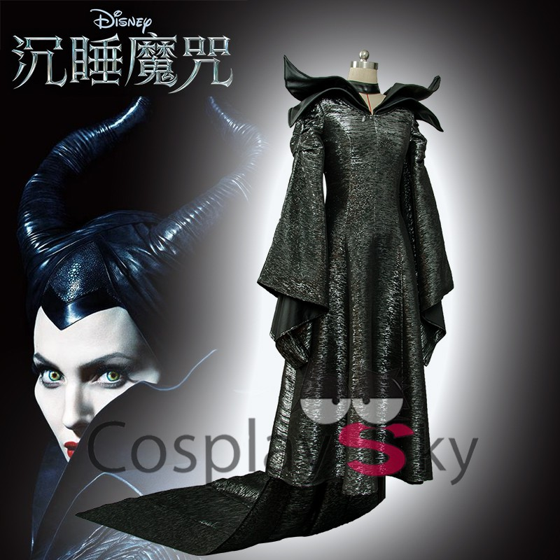 MALEFICENT STYLE HEAD PROP HORROR FANCY DRESS UP WRESTLING MASK ADULT COSPLAY