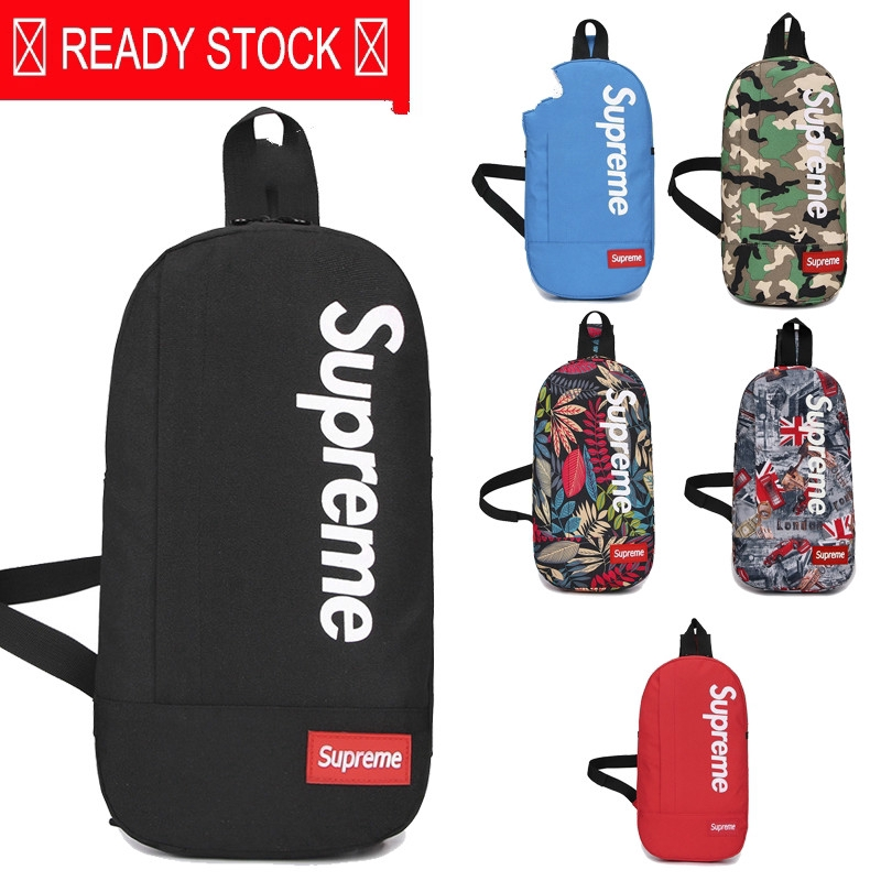 Original Supreme Sling Bags Chest Cross Outdoor Travel Backpacks