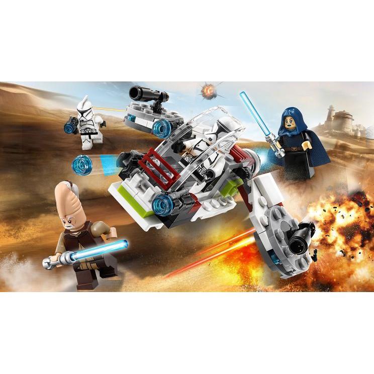 NEW Sealed LEGO 75206 STAR WARS Jedi /& Clone Troopers Battle Pack 102 Pcs