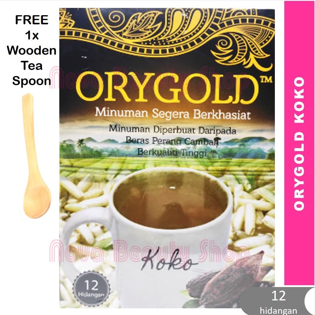 Orygold TURUNKAN KOLESTROL ANDA - Minuman dari Beras Perang Cambah - R&D UPM - 12 hidangan - Reduce Cholesterol