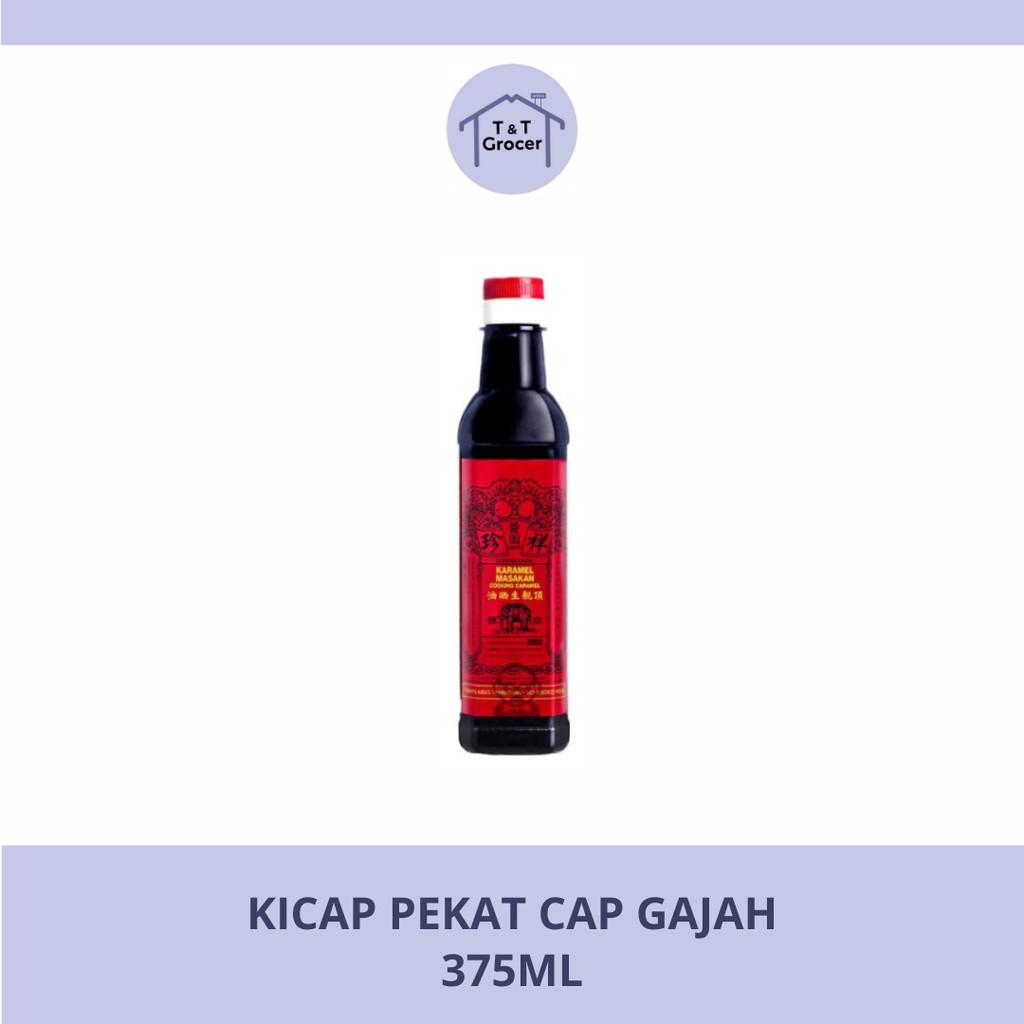 Kicap Pekat Cap Gajah (375ml)