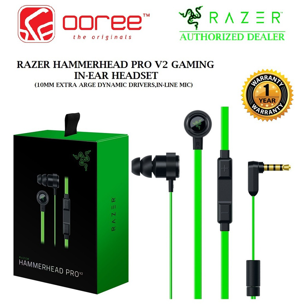 Genuine Razer Headset Hammerhead Bt Wireless Rz04 01930100 R3m1 Bluetooth Premium Gaming Earphone Headphone Shopee Malaysia