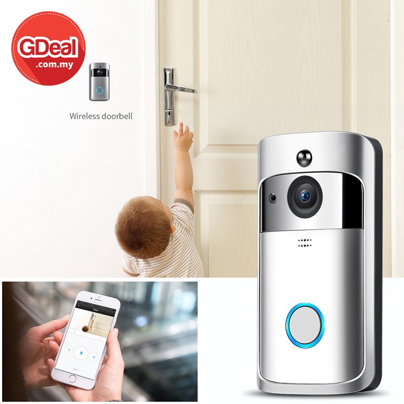 GDeal Smart Home Wireless Video Intelligent Security Digital WiFi Doorbell Loceng Rumah لوچڠ رومه