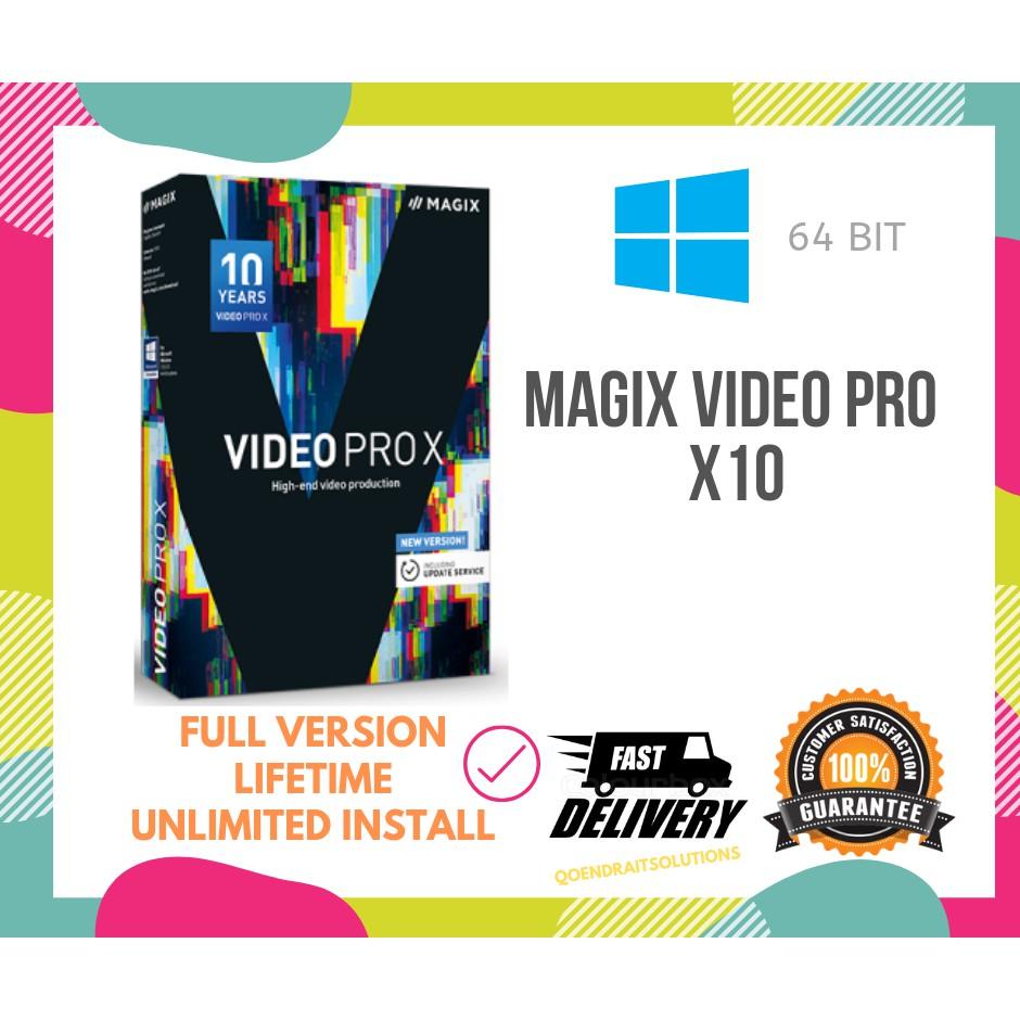 🔥HOT🔥 MAGIX Video Pro X10 2019 Full Version
