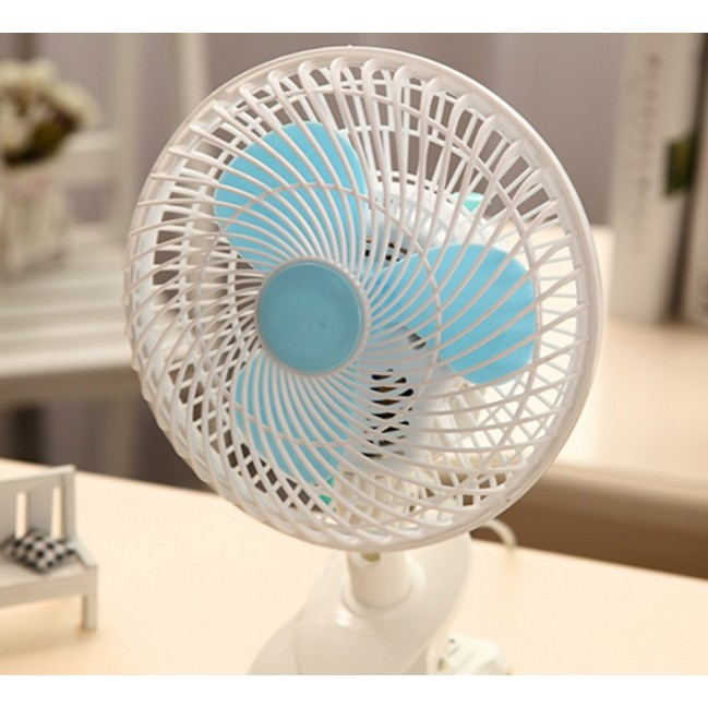 *SHIP 1DAY from MALAYSIA* Electric Clip on Fan Battery Quiet Fans Portable Clip