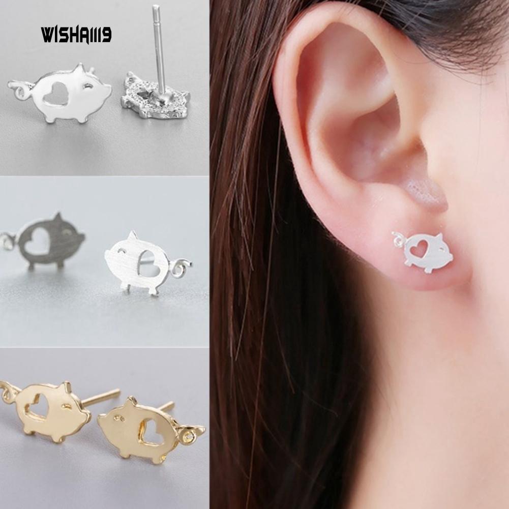 7Pair Lovely Acrylic Earrings Clip-On No Pierced Design For Children Girl Gift P