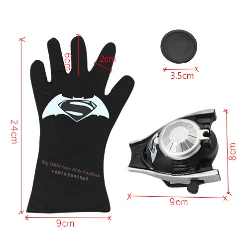 Ultimate Batman Glove With Disc Launcher