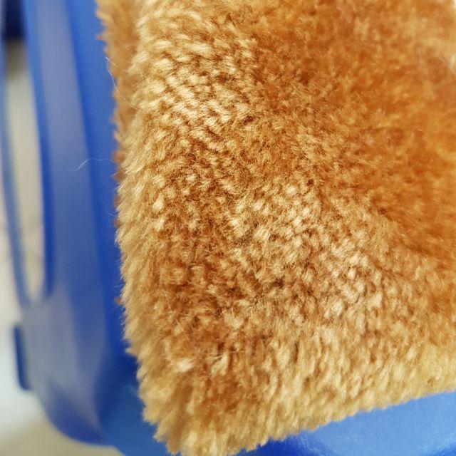 🏡💐 Carpet Bulu Warna Coklat untuk Pelamin / Home Deco Lebar 170cm x 1 meter 🏡🎗