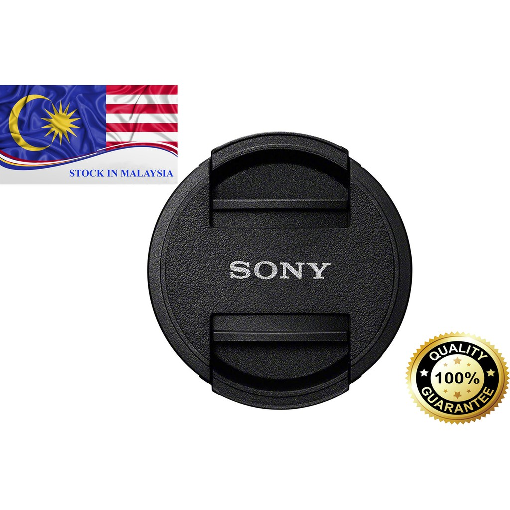 Lens Cap For Sony 40.5 49mm 55mm 62mm 72mm 77mm (Ready Stock In Malaysia)