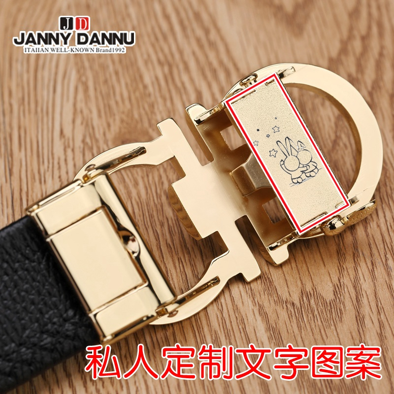 Fashion Mens Leather Belts Young Fashion Belts Male Needle Buckle Head Layer Leather Belt