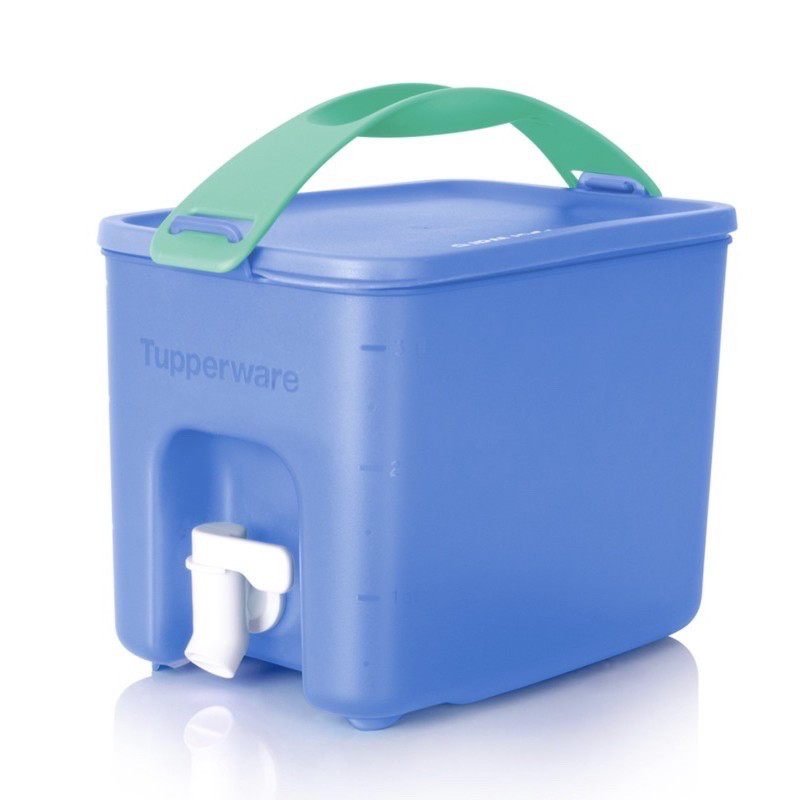 Tupperware Click To Go Beverage Dispenser (1pc) 3.1L