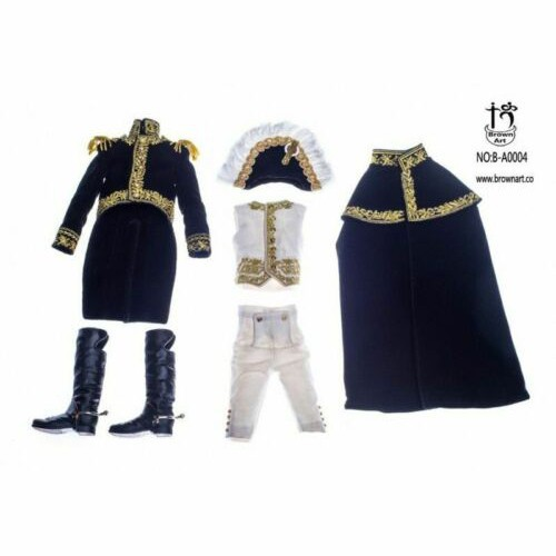 """Brown Art B-A0004 1//6 Scale Marshal of the French Empire 12/"""" Action Figure Cloak"""