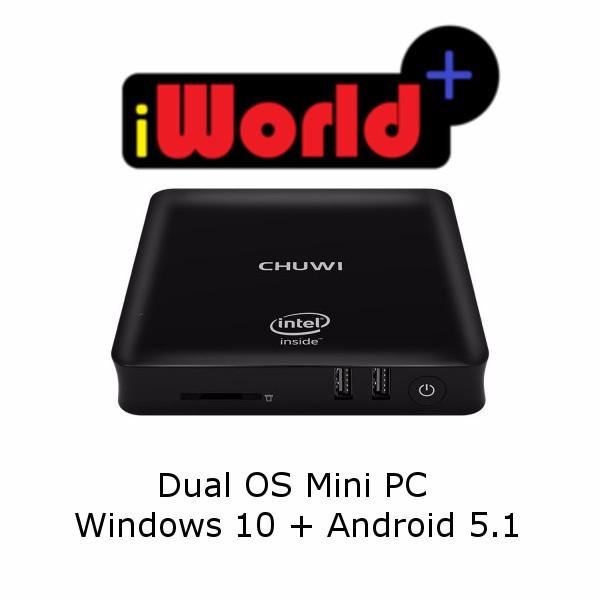 CHUWI HiBox Intel x5-Z8350 Quad Core 4GB RAM 64GB ROM TV Box
