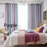 GDeal 【Thick Curtains】Room Star Pattern Full Shading Double Layer Bedroom Blackout Curtain Langsir Moden لڠسير مودن