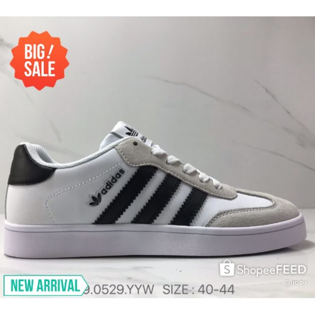 Adidas Vrx Low Men Low Top Casual Shoes Limited Edition Sneakers Classic Design Fashion Summer - White /40-44 Euro