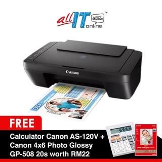 Canon E470 PIXMA Ink Efficient WiFi Printer (Free Gift Canon