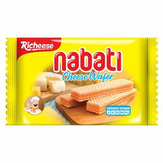 Richeese Brand Nabati Cheese Wafer 50G RICHEESE牌芝士威化饼