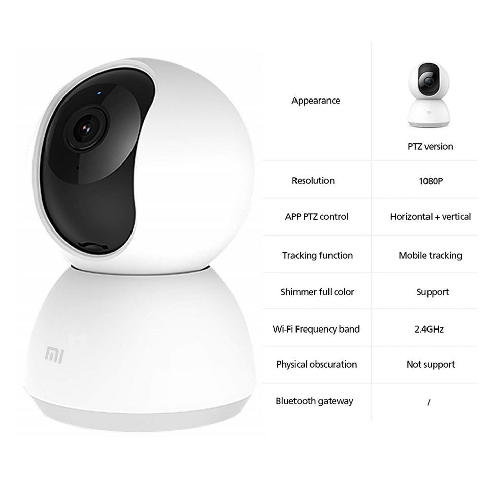 (Global English) Mi Home Security Camera 360° 1080p / Mi 360° Home Security Camera 2K Pro