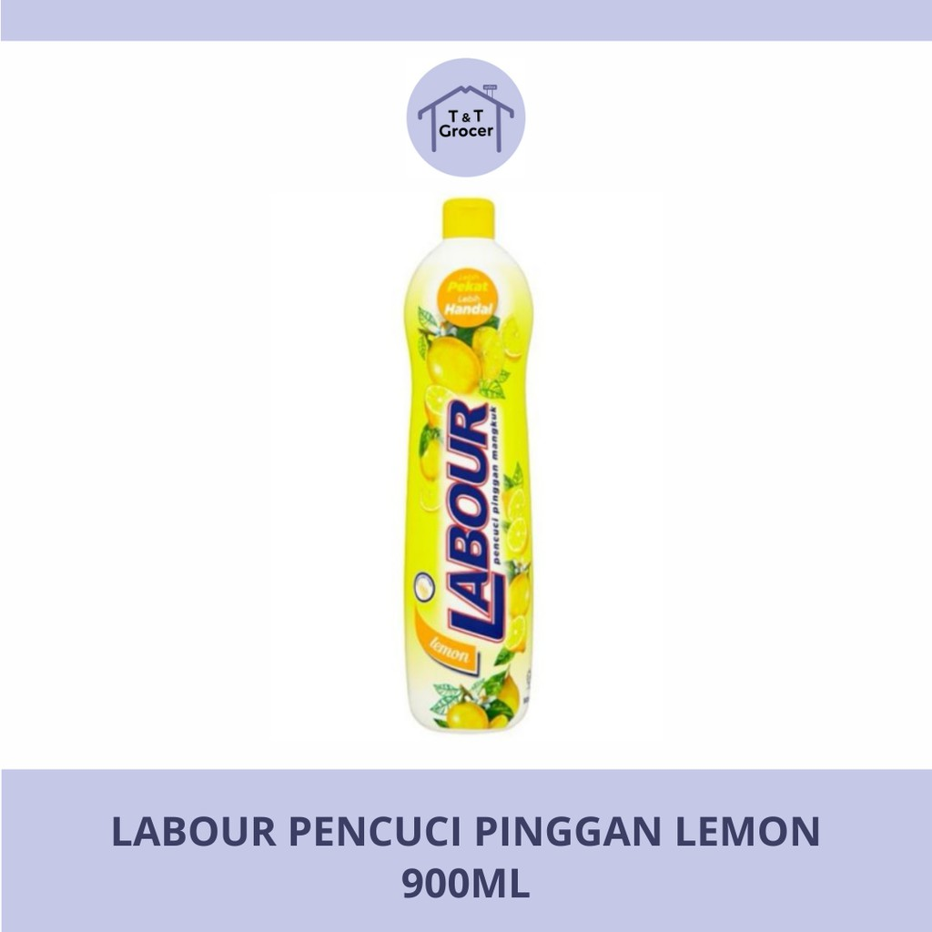 Labour Pencuci Pinggan 900ml (Lemon/ Lime)