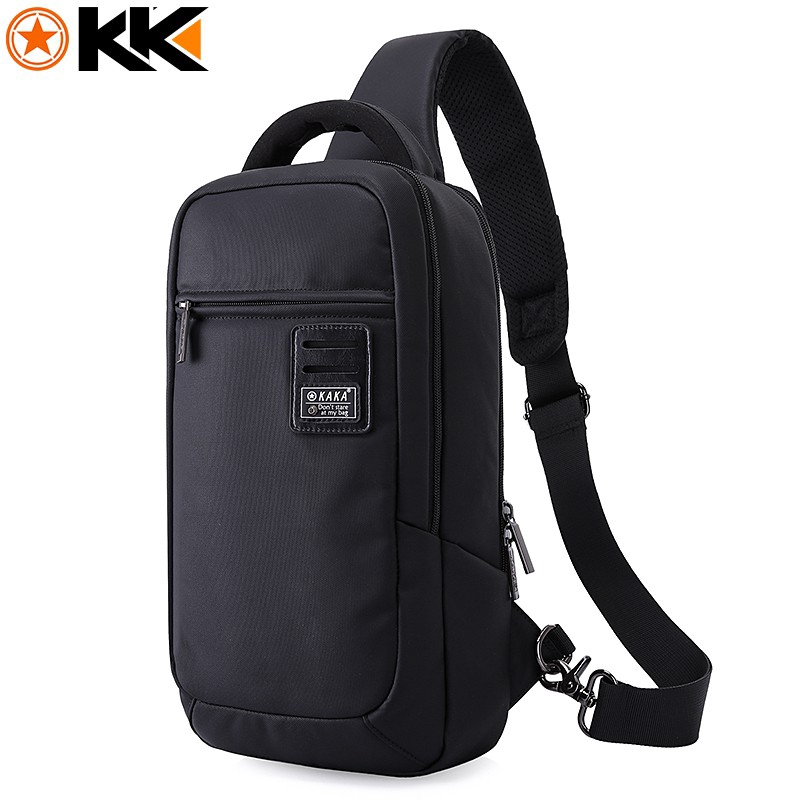 dfac2121a KAKA Men Waterproof Crossbody Bag Sling bag Shoulder Bag Men Chest Bag Slim  bag | Shopee Malaysia