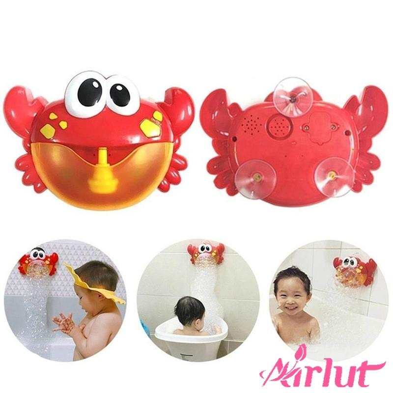 Electric Crab Bubble Machine Bathroom Bathtub Bubble Maker Kids Baby Bath Toys