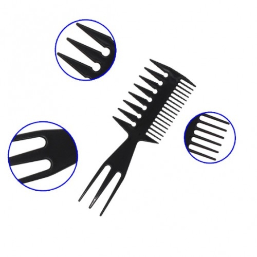 3 In 1 Afro Comb Styling Tint Double Side Tooth Combs