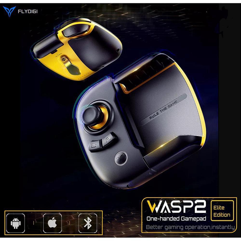 spedizione Taglia Romanza  Original Flydigi Wasp 2 pubg mobile call of duty mobile game controller  mobile Bluetooth gamepad trigger xiaomi Flydigi Wasp2 for Android/ios  system | Shopee Malaysia