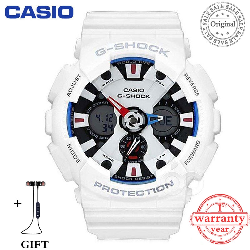 c435d0fae Warranty Original stock Casio 2 Colors G-SHOCK Men GA-120 Watch Sport  Watches | Shopee Malaysia
