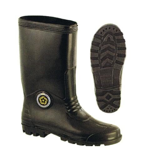 KORAKOH Black Rain Boots Kasut hujan Shoes