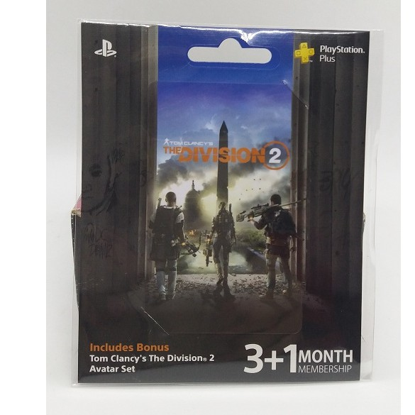 Playstation Plus Asia Tom Clancy The Division 2 Avatar Set With 3