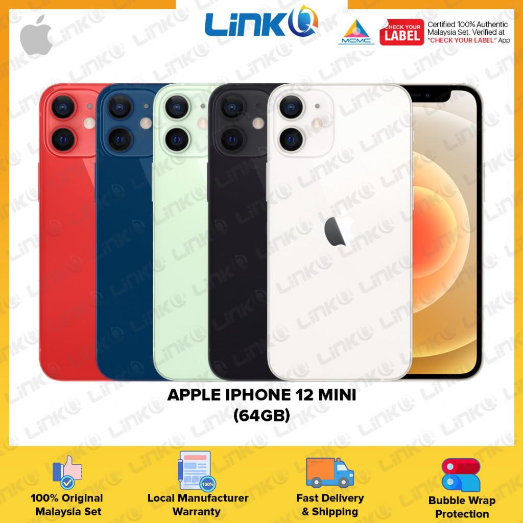 [ETA MID OF NOV] Apple iPhone 12 mini 64GB (5G) Smartphone - Original 1 Year Warranty by Apple Malaysia