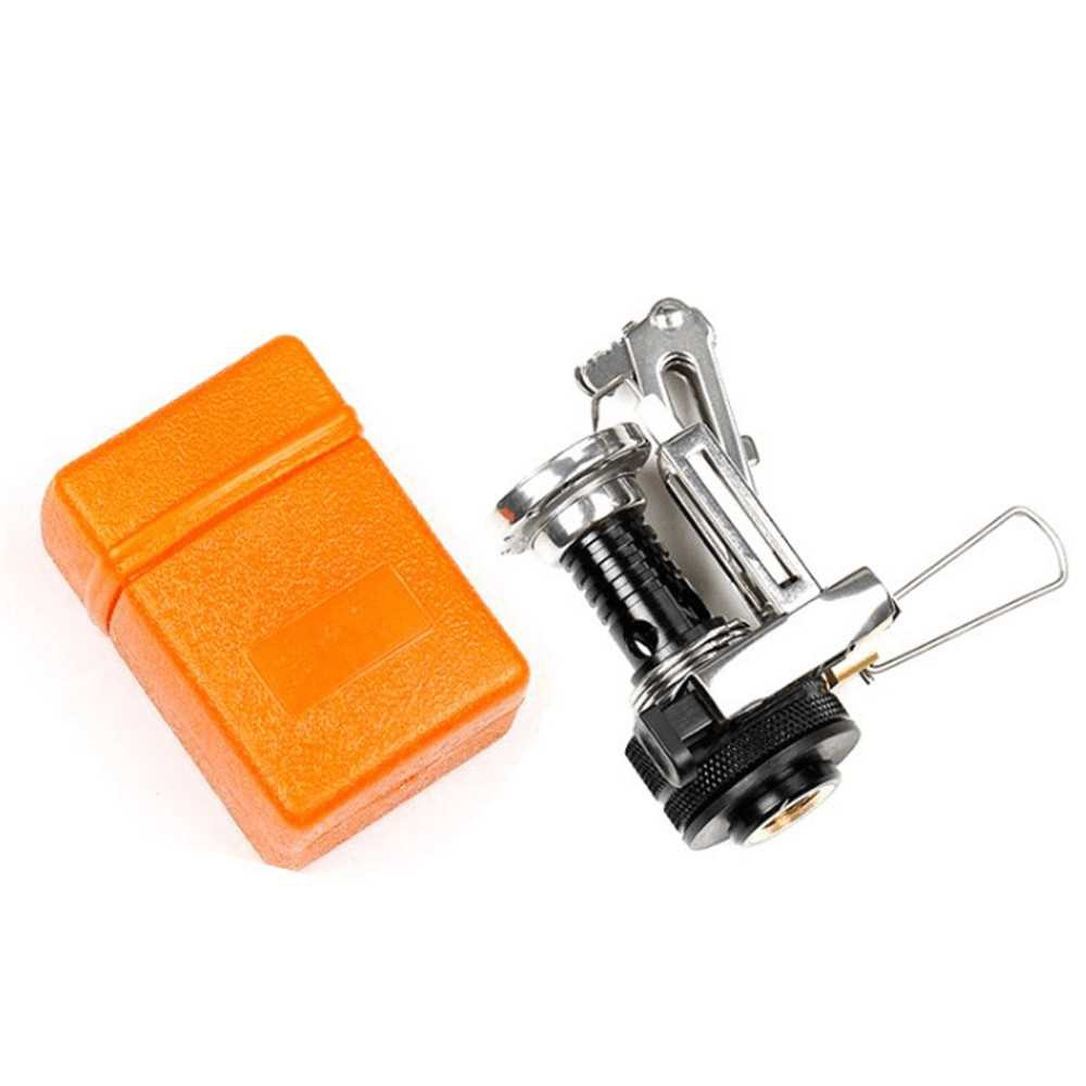 Mini Camping Stoves Folding Outdoor Gas Stove Portable Furnace Cooking Picnic Split Stoves Cooker Burners Cooking Picni