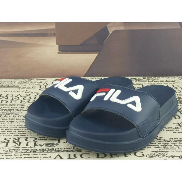 0b9ede61 Fila Drifter Pool Slides in Navy Blue - beach shoes flip flops ...