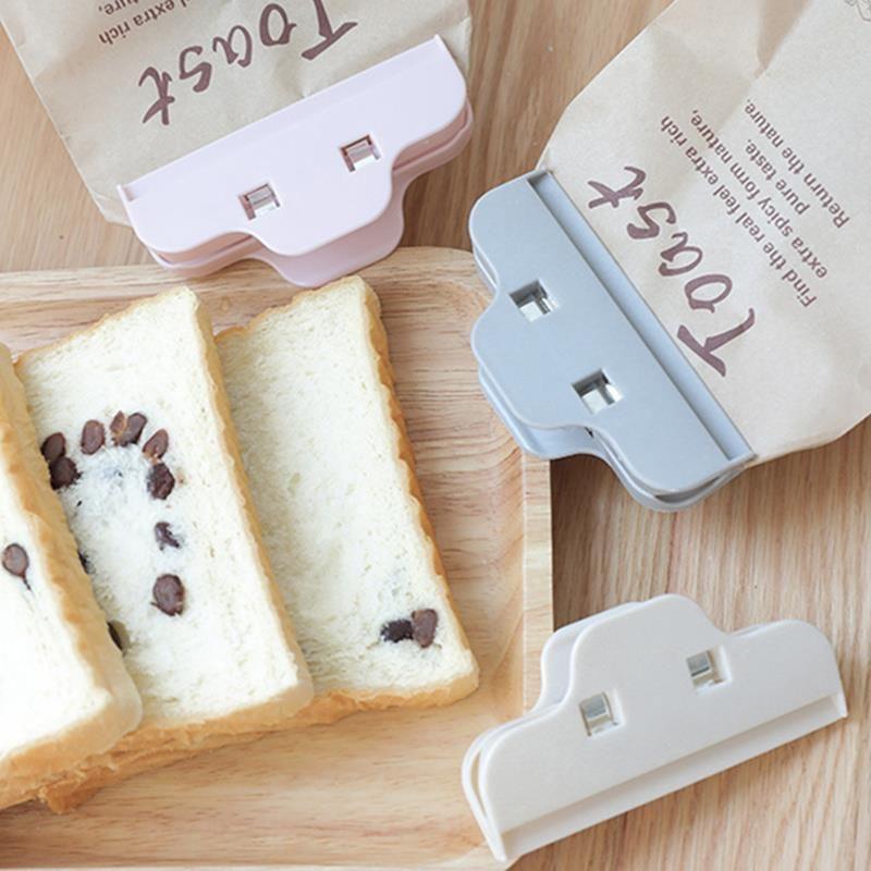 厨房食品零食密封夹子塑料强力夹塑料袋密封器防潮保鲜袋封口夹Kitchen Food Snacks Clip Powerful Clip Plastic Bag Sealer Fresh-keeping Bag Sealing Clip