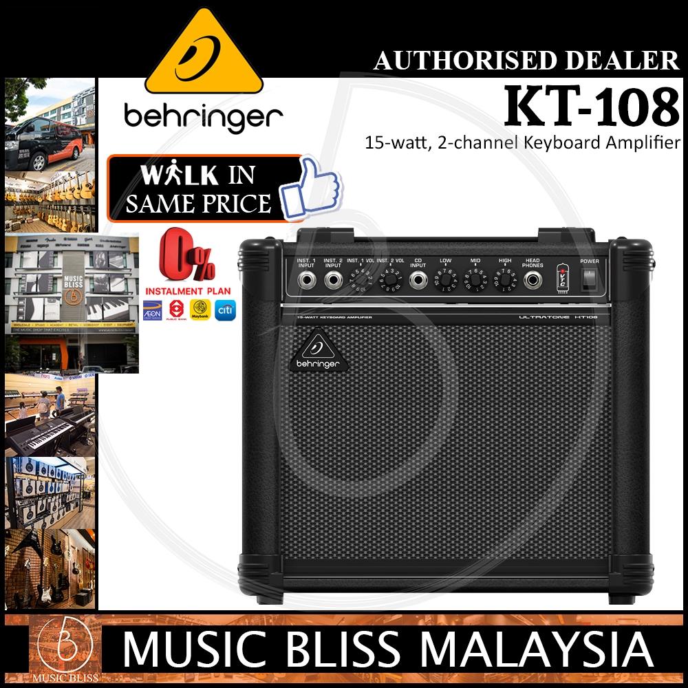 Behringer ULTRATONE KT108 Ultra-Compact 15W Keyboard Amplifier speaker