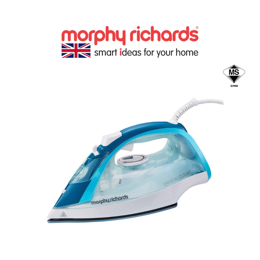 [NEW ARRIVAL] Morphy Richards Steam Iron – Crystal Clear Blue 300300