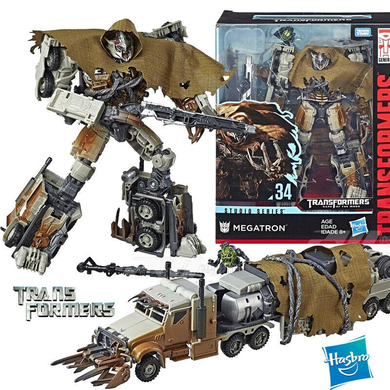 Transformers FIGURE ~ Leader Class #34 Studio Series ~ Decepticon MEGATRON