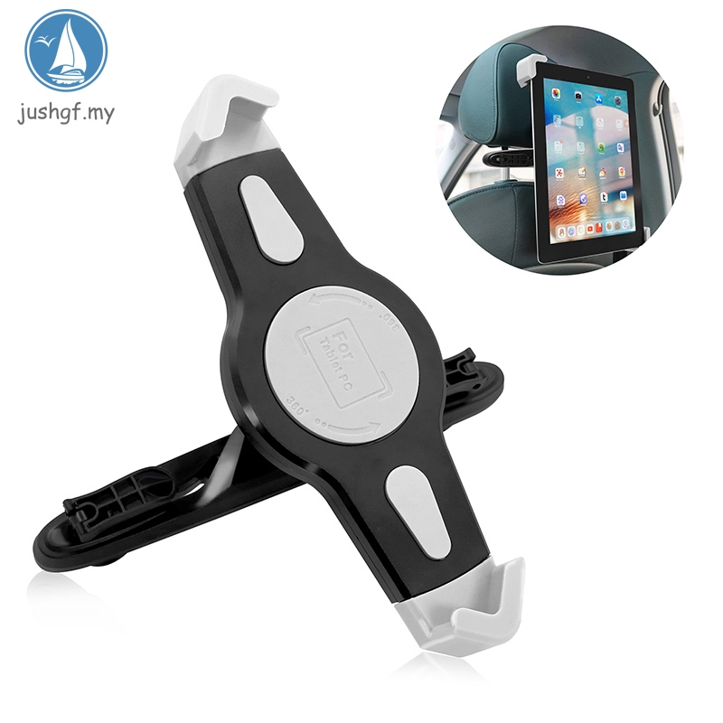 Universal Tablet Car Headrest Seat Holder Mount For 7-10 Inch Tablets Devices