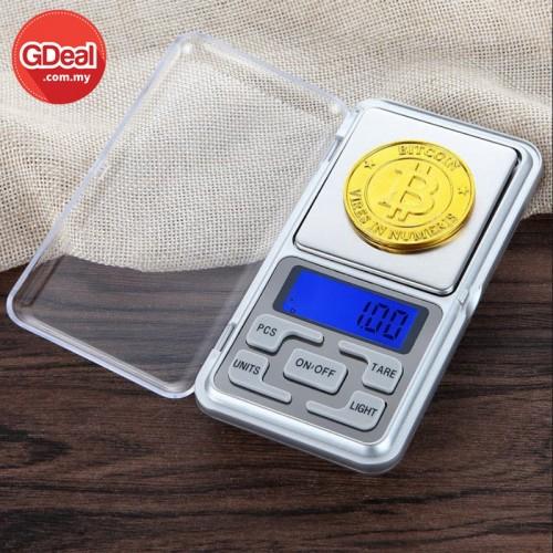 GDeal Mini Digital Scale Jewelry Pocket Balance Weight Gram Digital Scale (500g/0.01g)