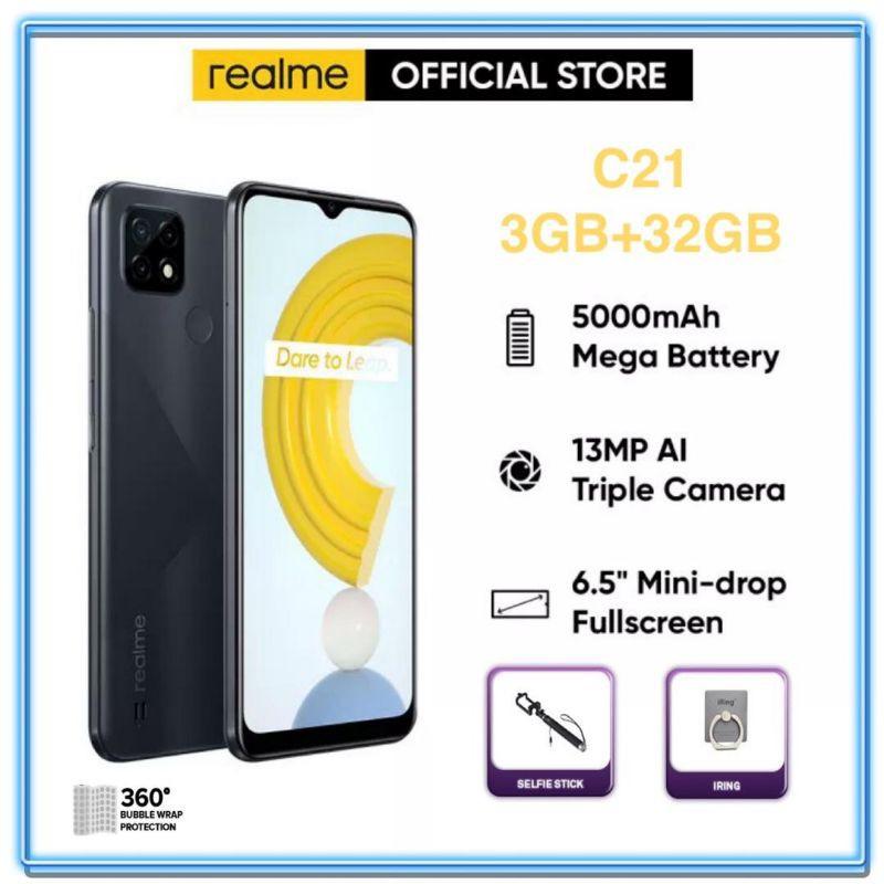 Realme C21 [3+32GB] Original Realme Malaysia Set