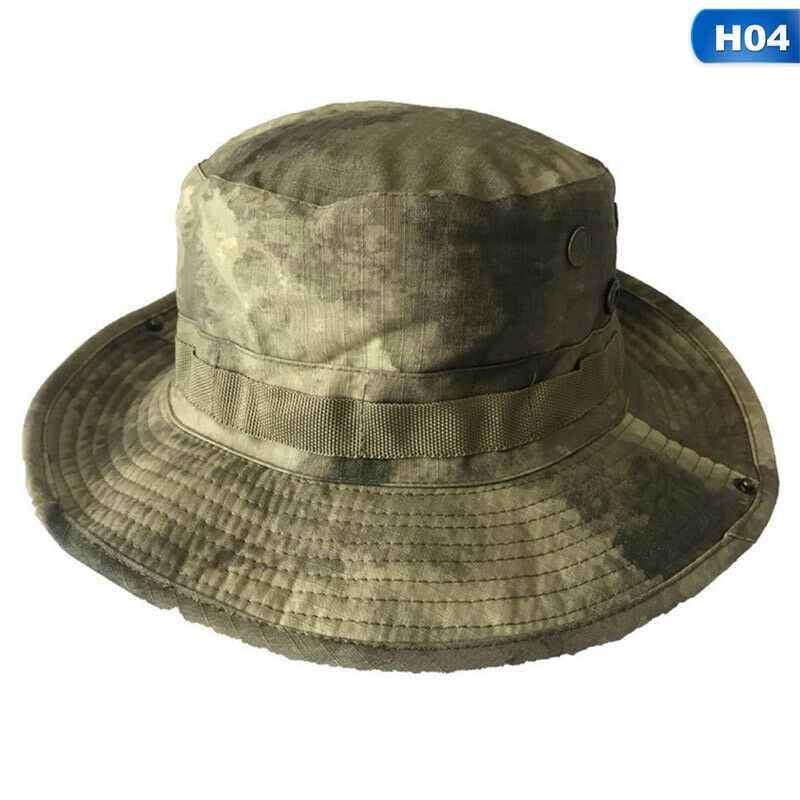 SPECIAL FORCES SHORT BRIMMED BUSH HAT BRIM BOONIE SUN TROPICAL SF CAMO PLAIN