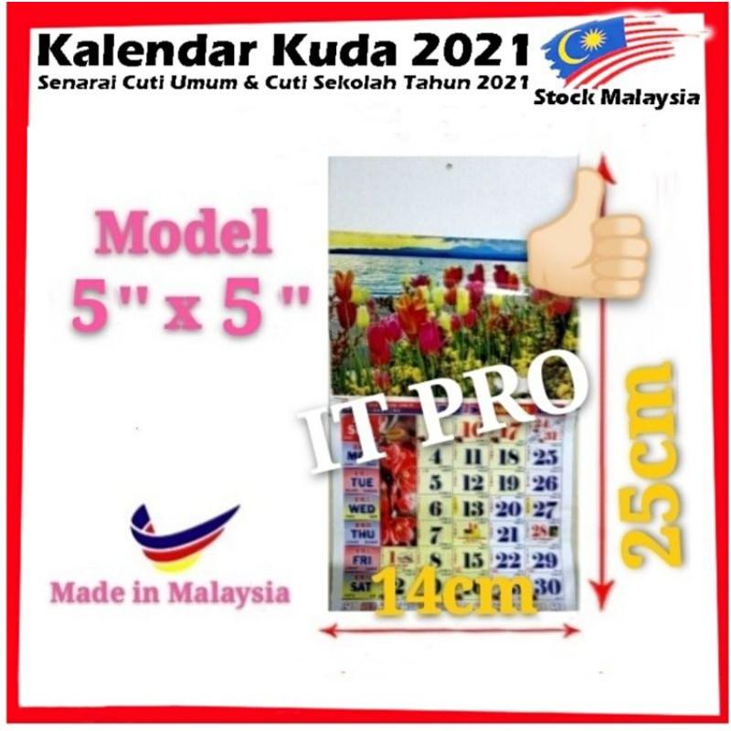 PRO🏠【Ready Stock】NEW Update Calendar Horse 2021 Kalendar ...