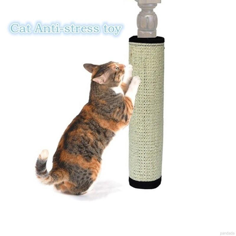 2019 Scratching Board Mat Pad Cat Loop Carpet Scratcher Indoor Home Furniture Table Chair Sofa Legs Protector Pet Toy Furniture & Scratchers