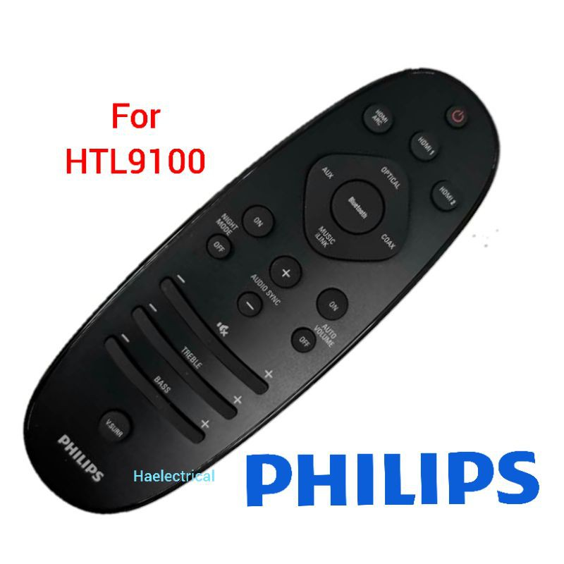 philips home theater REMOTE CONTROL HTL9100