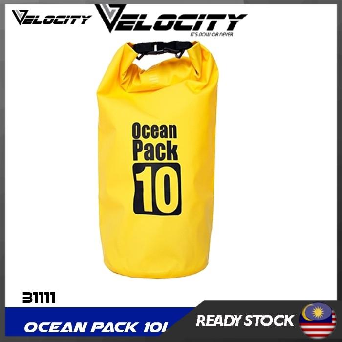 Velocity Ocean Pack Dry Waterproof Storage Bag Sports Outdoor 10 L