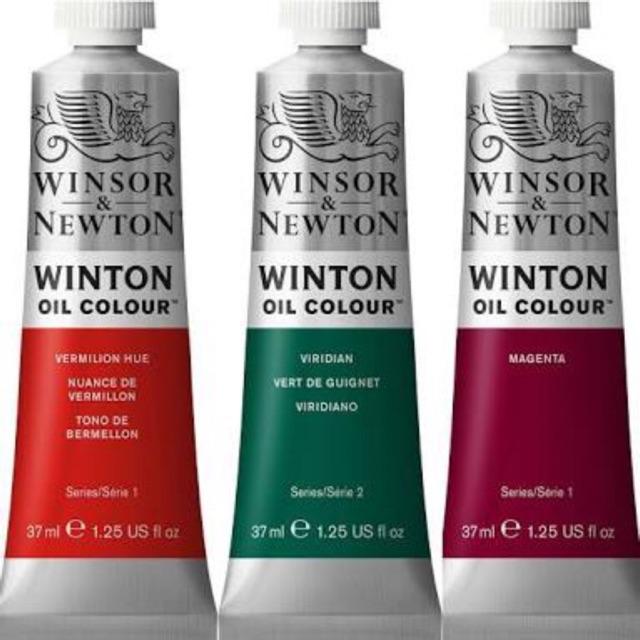 W&N สีน้ำมัน ชุดที่1 วินเซอร์แอนด์นิวตัน winsor and newton ขนาด