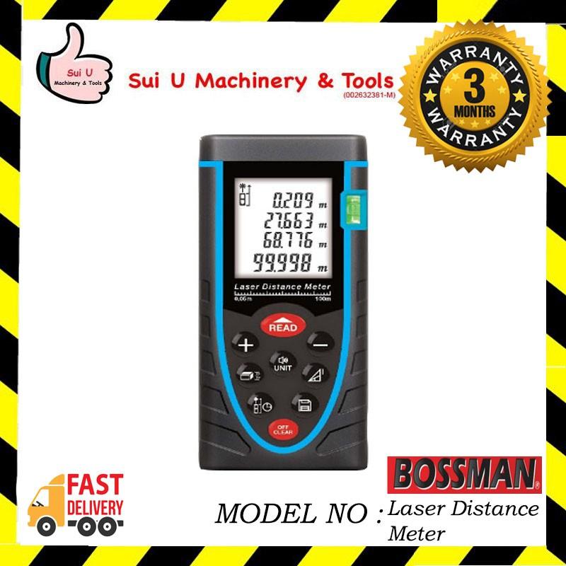 Bossman Bsw80 Laser Distance Meter 80m Shopee Malaysia