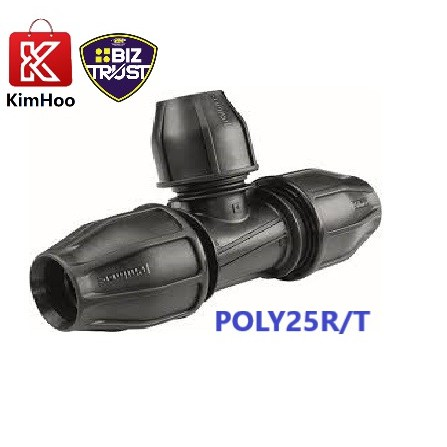 HEAVY DUTY FISH BRAND POLY REDUCING TEE 25mm & 32mm
